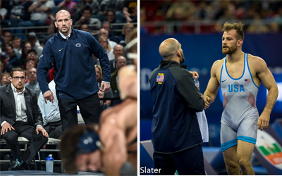 Casey Cunningham Named 2018 USA Wrestling Freestyle Coach of the Year
