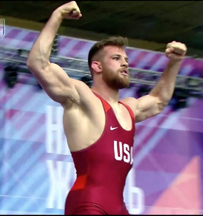 David Taylor Undefeated at World Cup, USA Gold