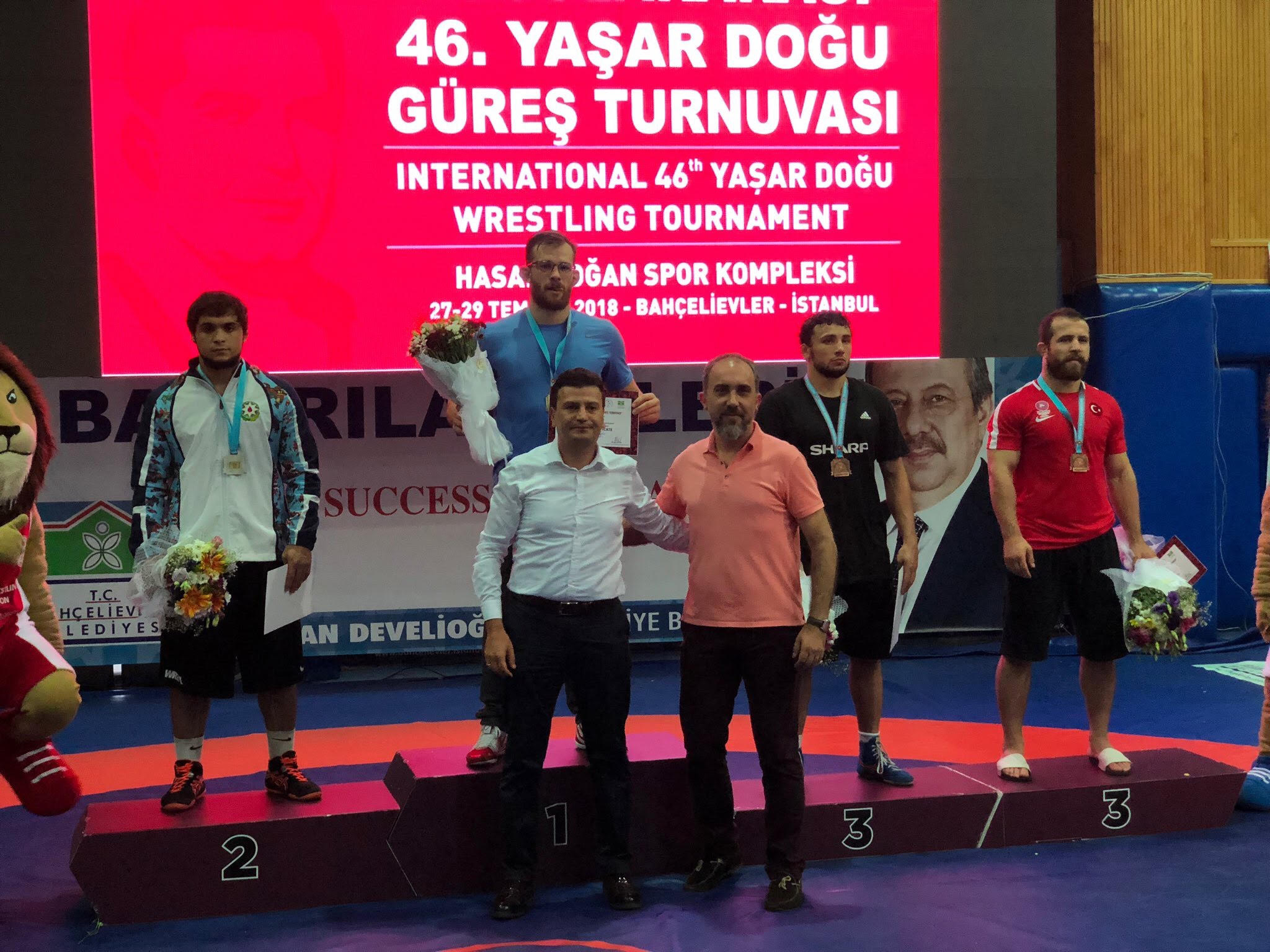 David Taylor Pins 4 Opponents at Yasar Dogu