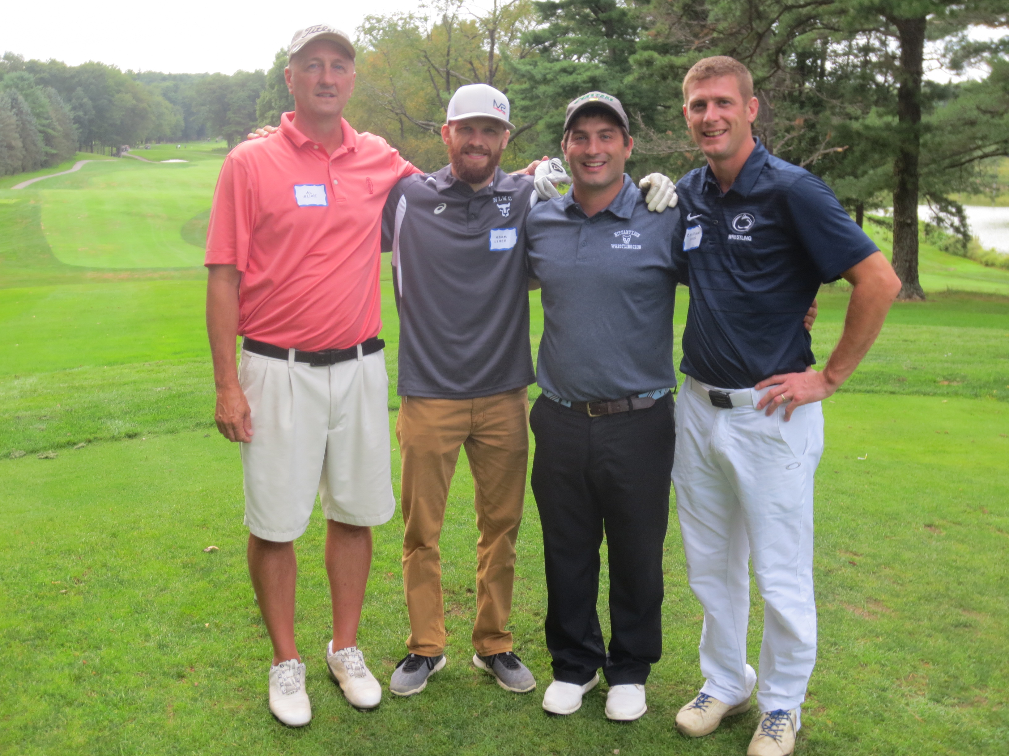 Al Kline Jr., Adam Lynch, Mark Stockdale, Christian Snook