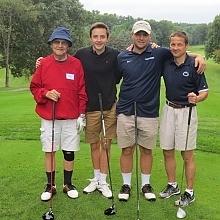 Bill Elder, Kyle Martin, Stan Martin, Jim Martin