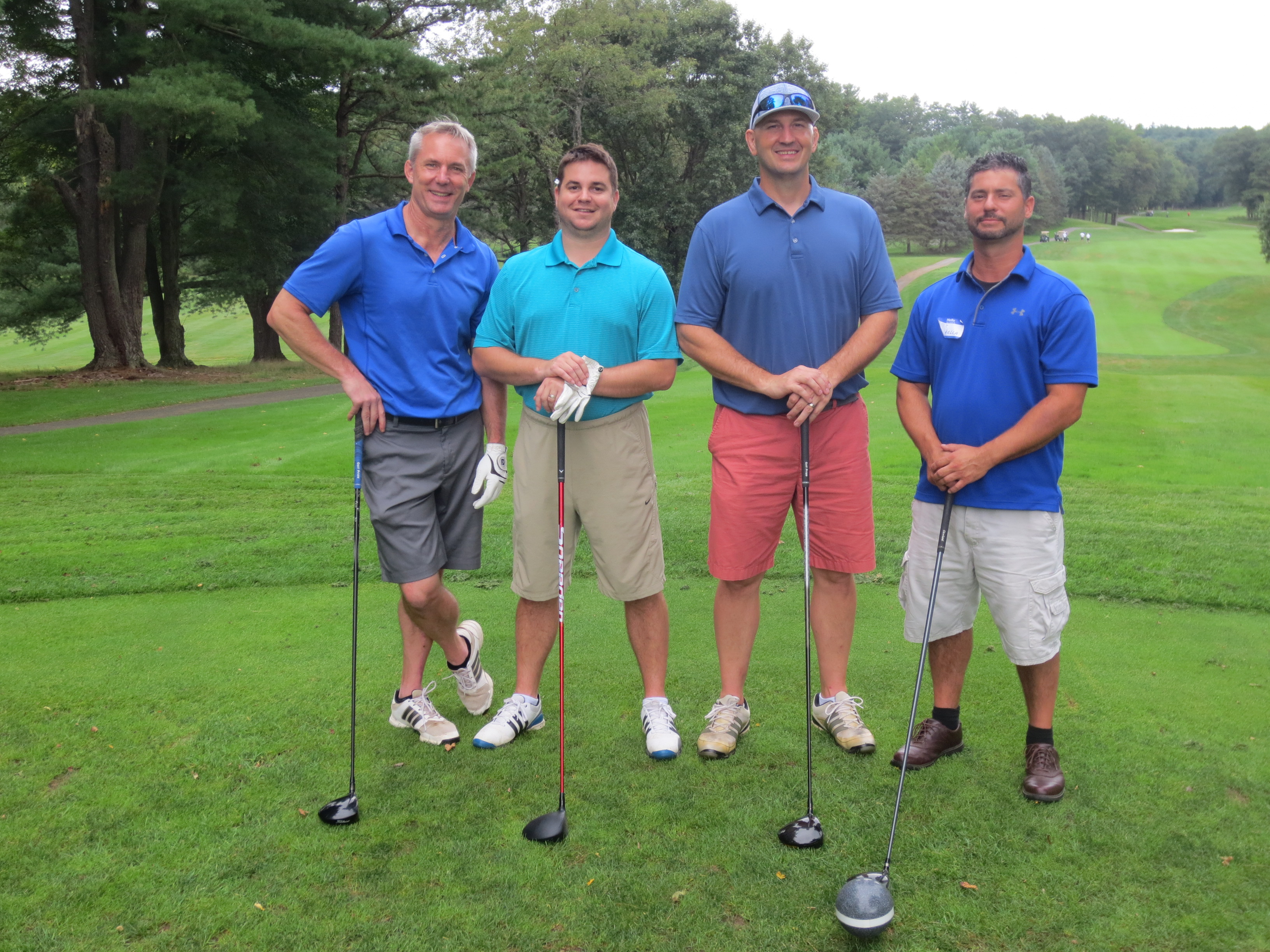 Brad Abel, Brock Armour, Mark Janus, Lee Spinella