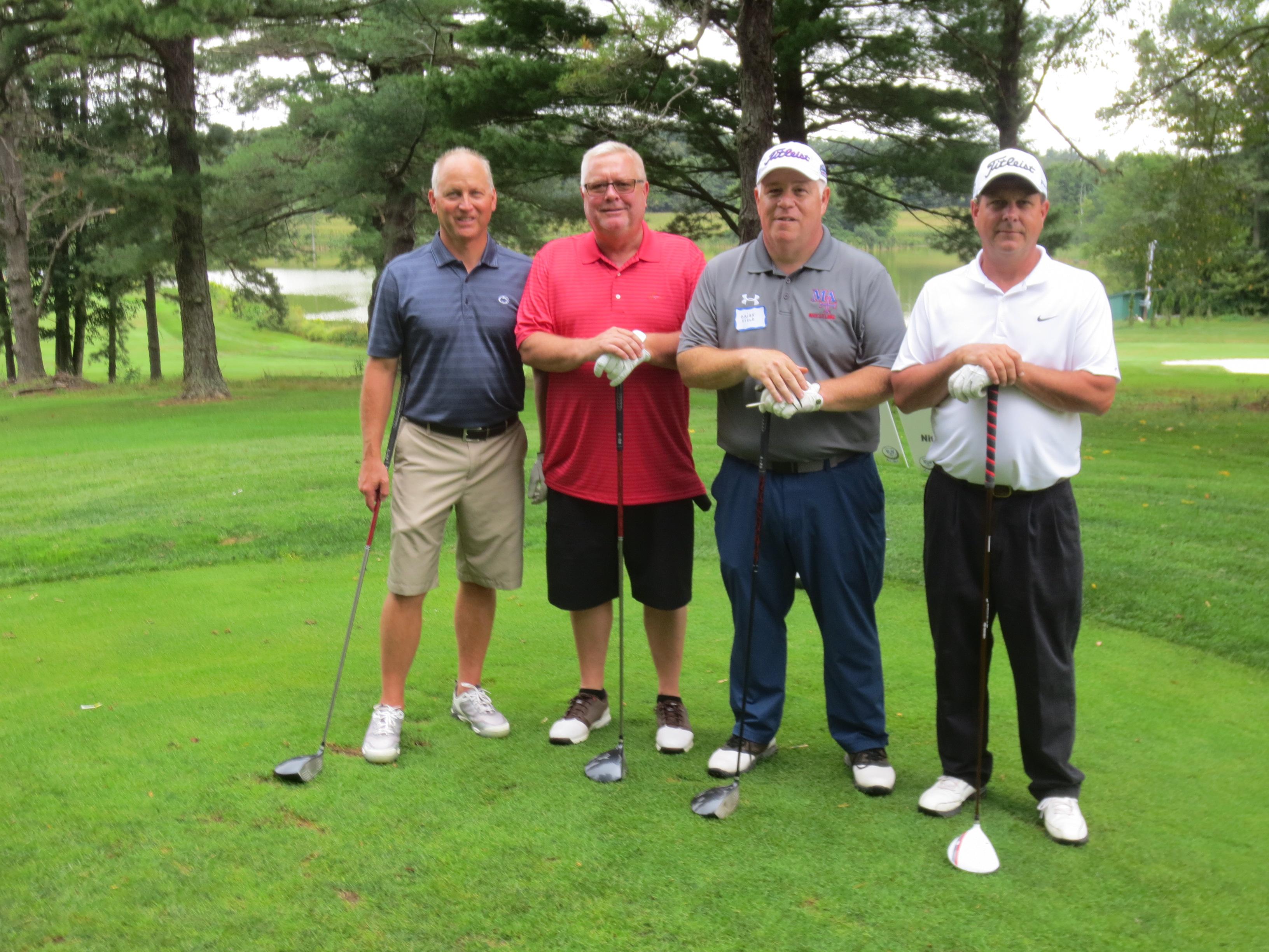 Brad McGil, Gary Black, Brian Field, Tom Cawlkins
