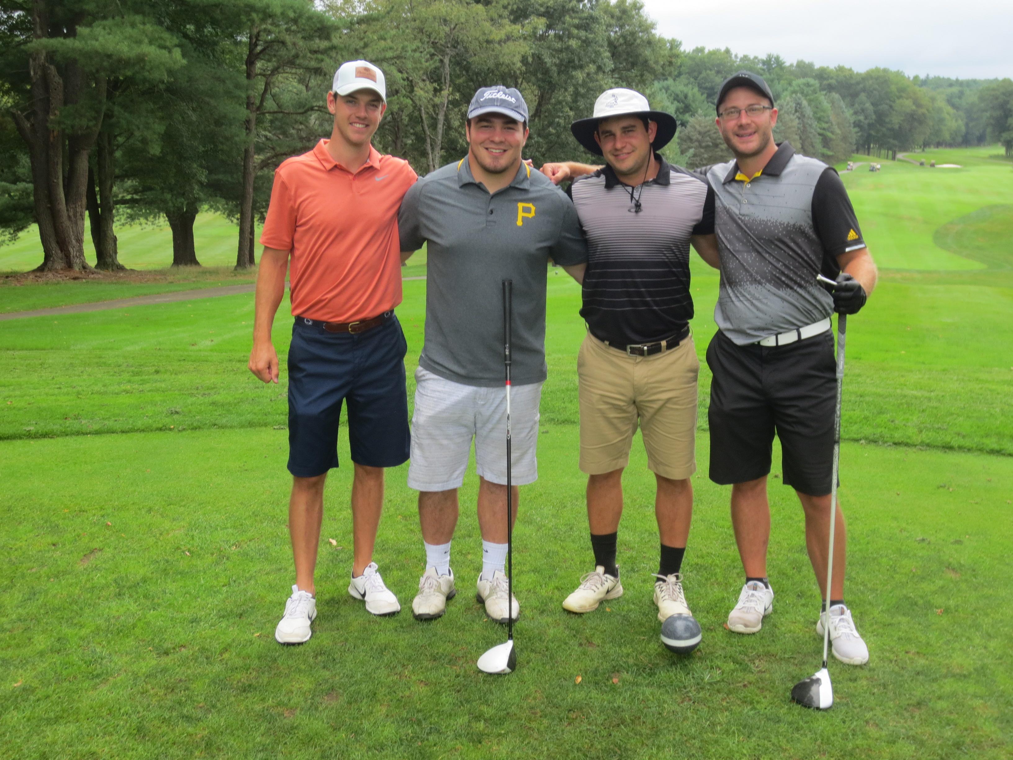 Christian Elliot, Matt McCutcheon, Eric Weyant, Nick Stone