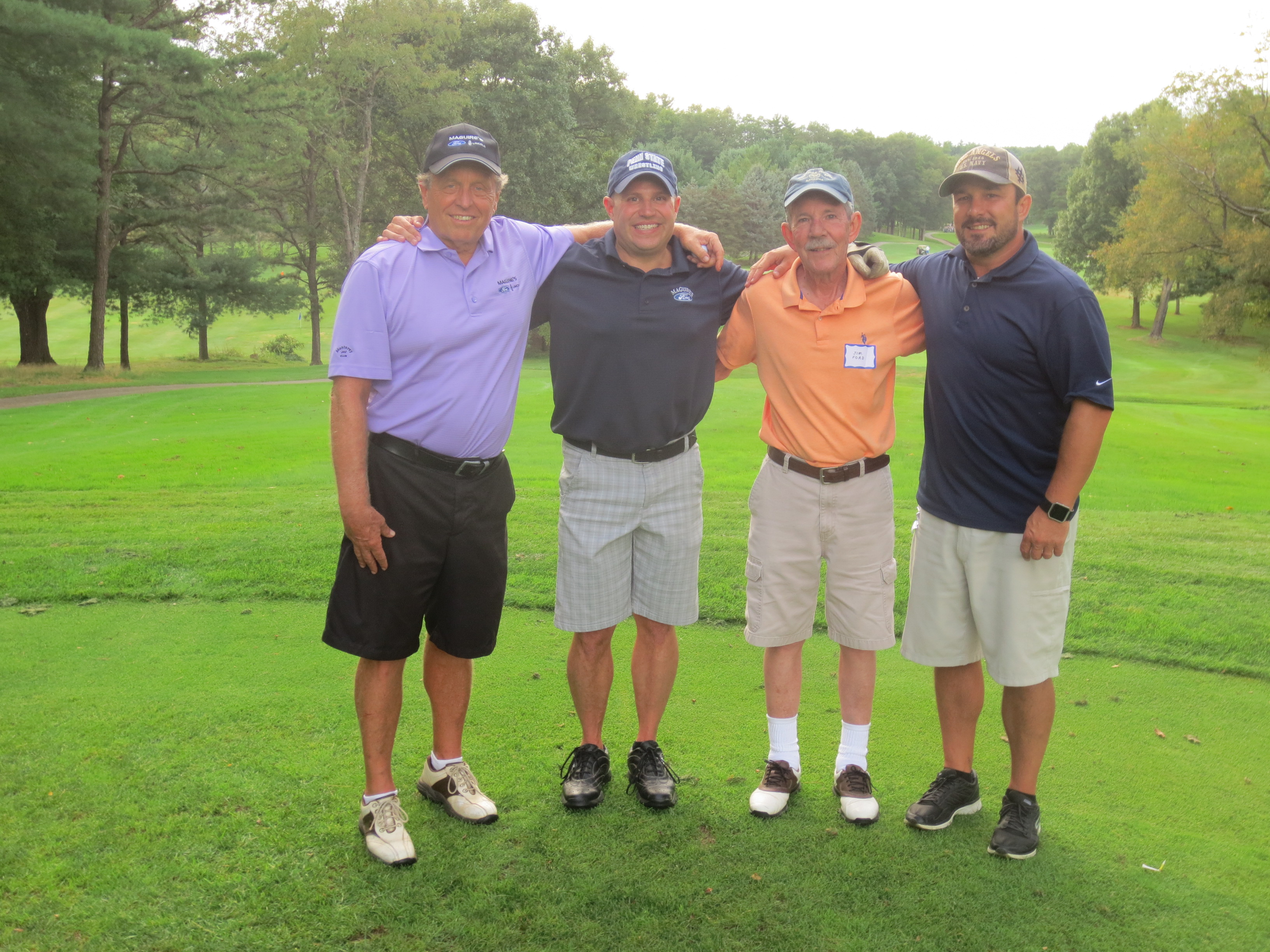 Gordon Oeschger, Ryan Rohrer, Jim Ford, Jason Ford