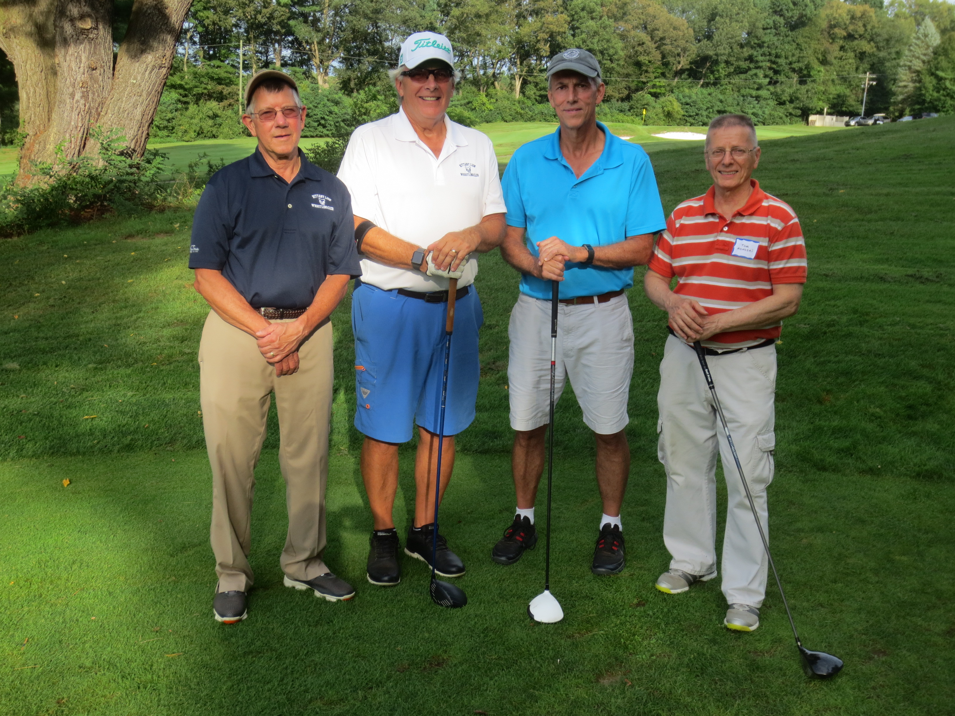 Jerry Lauchle, Terry Cooper, Dave Nelson, Tom Monoski