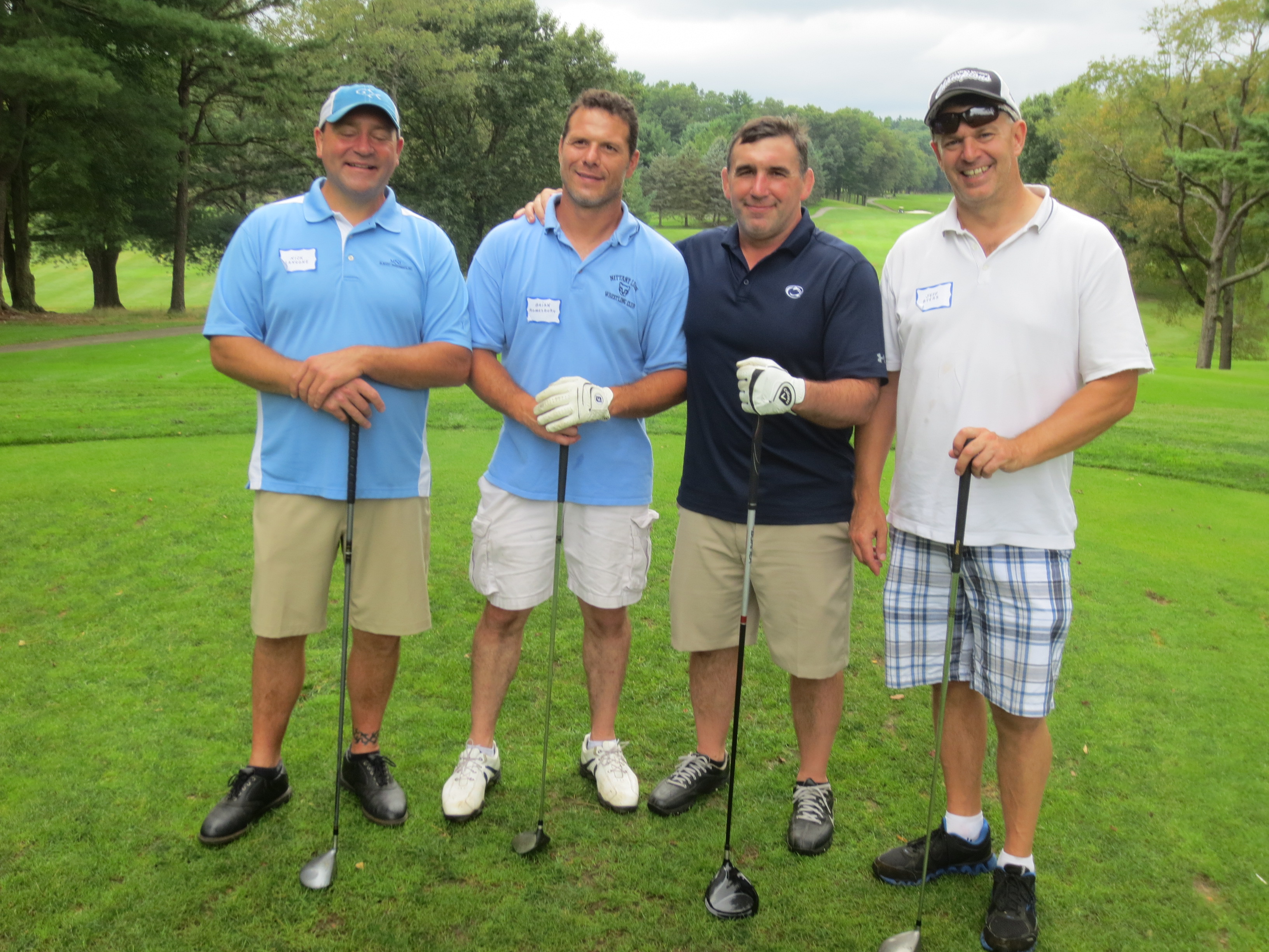 Nick Langone, Brian Romesburg, Glenn Pritzlaff, Jeff Byers