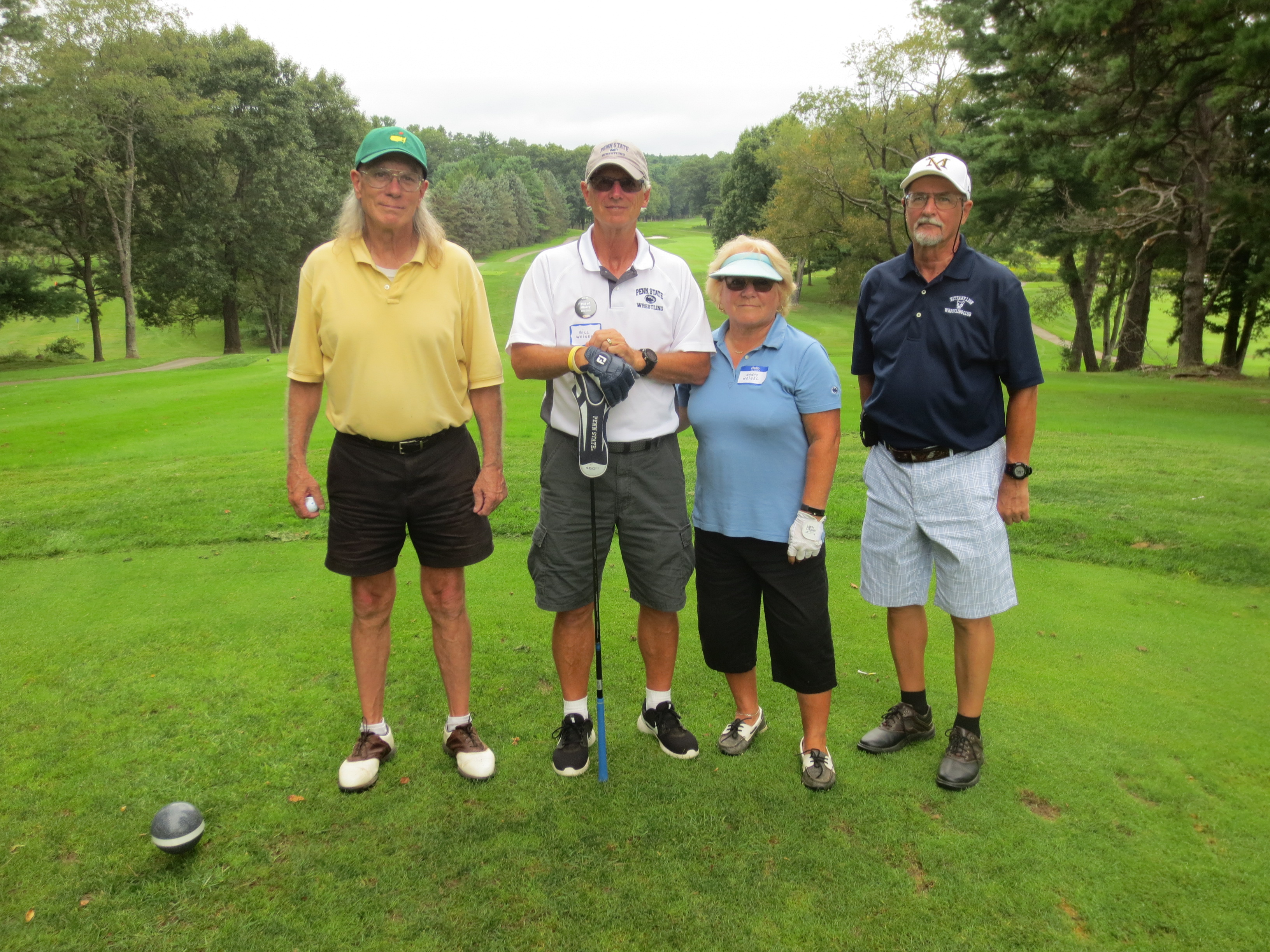 Rod Dietz, Bill Weigel, Nancy Weigel, Dave Weigel